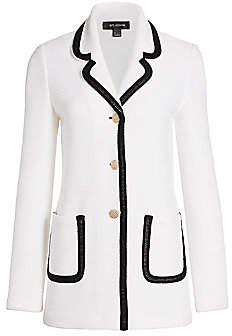 St. John Women's Lux Bouclé Knit Jacket