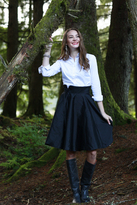 Shabby Apple Celeste Skirt Black