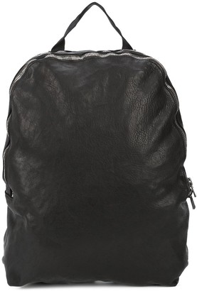 Guidi zipped minimal backpack