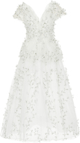 Rodarte Babysbreath Embroidered Tulle Dress