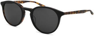 Barton Perreira Men's Princeton Dark Round Sunglasses