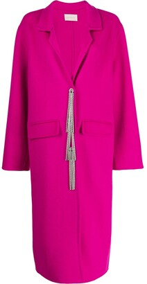 Christopher Kane Embellished Button Coat