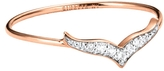 ginette_ny Diamond Wise Ring - Rose Gold