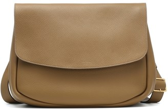 The Row Mail Small leather crossbody bag