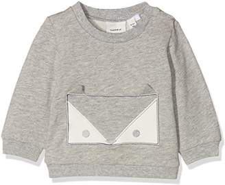 Name It Baby Nbnuxola SWE O-Neck Bru Sweatshirt,(Size: 56)