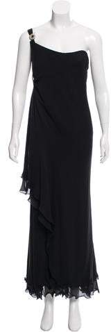 Gianni Versace One-Shoulder Evening Dress
