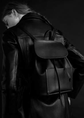 MANGO Front pocket backpack