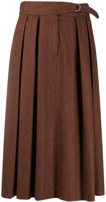 Paul Smith Side-Buckle Skirt