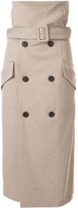 Camilla And Marc Dawn trench skirt