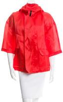 Robert Rodriguez Silk Hooded Jacket
