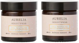 Aurelia Probiotic Skincare Aurelia Cell Revitalise Day 60Ml & Night Moisturiser 60Ml Kit