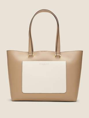 DKNY Karla Colorblocked Leather Tote