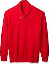 Sean John Men's Big and Tall Toggle Shawl Collar Sweater