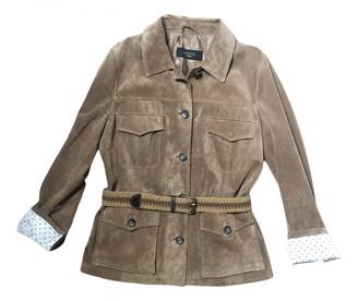 Max Mara Weekend Brown Suede Leather jackets