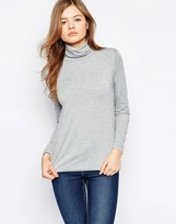 B.young High Neck Long Sleeve Top