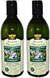 Avalon Bath & Shower Gel, Rosemary, 12-Ounces (Set of 2)