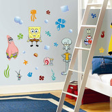 SpongeBob Squarepants Room Mates Favorite Characters 30 Piece Nickelodeon Wall Decal Set