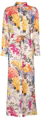 Etro Floral shirt dress