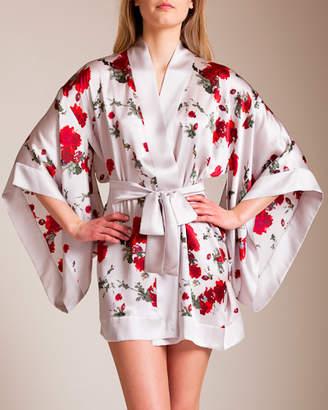 Woolrich Meng Short Silk Kimono