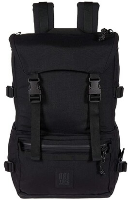 Topo Designs Rover Pack - Tech (Black/Black) Backpack Bags