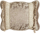 Sweet Dreams Standard Parisia Sham with Ruched Lace Insets & Tassels