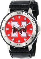 Game Time Men's COL-VET-NEB Veteran Custom Nebraska Veteran Series Watch