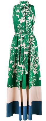 Borgo de Nor Paloma print maxi dress