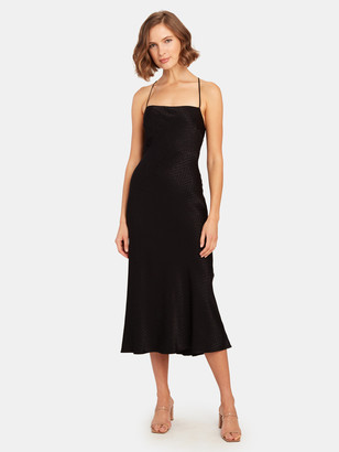 ASTR the Label Trinity Satin Midi Dress