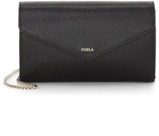 Furla Large Babylon Leather Wallet-On-Chain