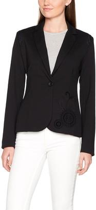 Desigual AME_MARI Women's Blazer Black (Negro 2000) 46 (46 EU)
