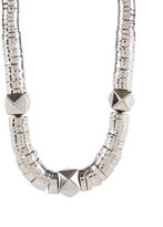 Techno Tribal Articulated Rope Necklace