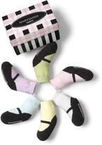 Trumpette Girls' Mary Jane Pastel Socks, 6 Pack