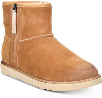 UGG Men Classic Waterproof Mini Zip Boots Men Shoes