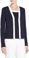 St. John Classic Cady Milano Knit Jacket