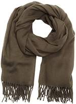 Pieces Women's New Eira Wool Scarf – Shawl - green -
