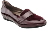 Earthies Burgundy Patent Leather Bremen Loafer