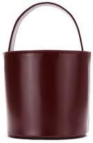 Sarah Chofakian leather bucket bag