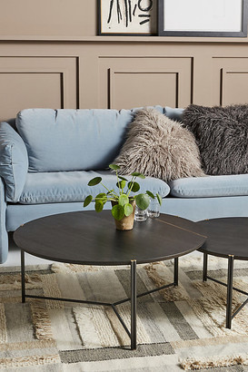 Anthropologie Nesting Coffee Table By in Black Size L