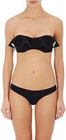 Lisa Marie Fernandez Women's Natalie Bandeau Bikini-BLACK