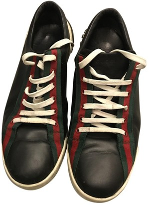 Gucci Ace Black Patent leather Trainers