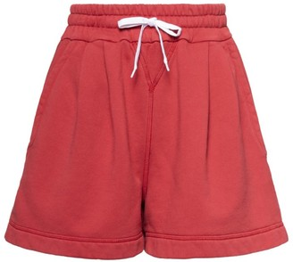 Miu Miu Cotton Fleece Shorts