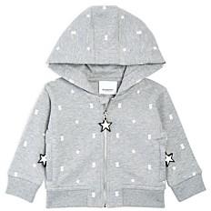 Burberry Unisex Gregory Star Print Zip Hoodie - Baby