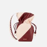 Diane von Furstenberg Women's Evening Drawstring Bag - Red Wine/Petal