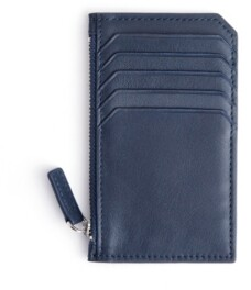 ROYCE New York Zippered Credit Card Wallet
