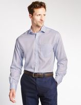 Marks and Spencer Big & Tall Pure Cotton Long Sleeve Shirt