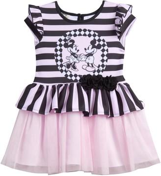Pippa & Julie Mickey Mouse & Minnie Mouse Tutu Dress