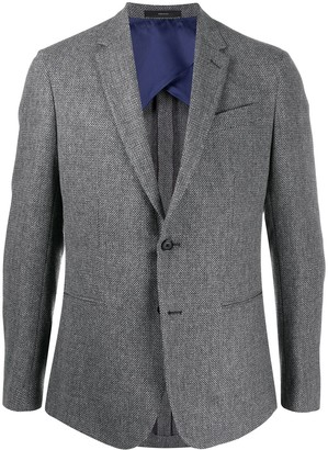 Paul Smith Fitted Long Sleeve Blazer