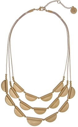 The Sak Triple Row Statement Necklace