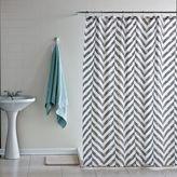 Dormify Tiled Chevron Shower Curtain
