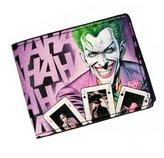 "Batman Wallet - DC Comics Joker ""HAHAHA"" Bi-Fold New Gifts mw1vlwdco"
